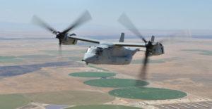 Osprey Horizontial Flight